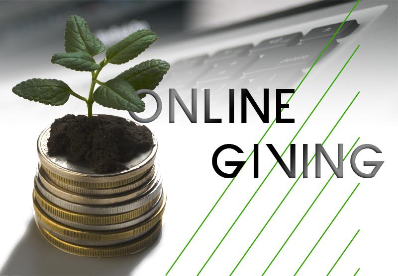 Online giving logo